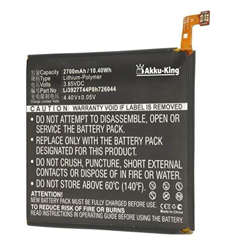 Akku-King Akku kompatibel mit ZTE Li3927T44P8h726044 - Li-Polymer 2700mAh - für Axon 7 Mini, 7 Mini Dual, B2017G