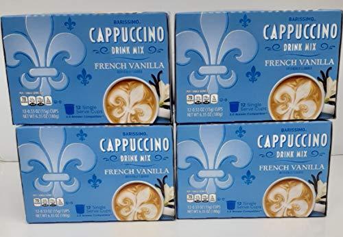 Barissimo French Vanilla Cappuccino Coffee Cocoa Pods 2...