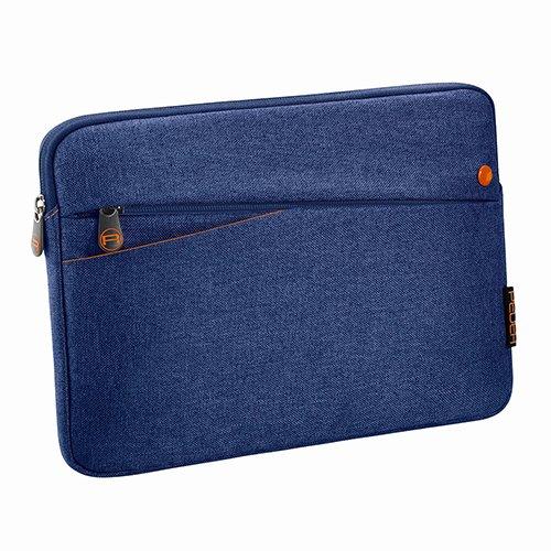 Pedea Tablet PC Tasche Fashion für 12,9 Zoll (32,8 cm) Schutzhülle Etui Hülle mit Zubehörfach, blau