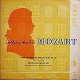 Wolfgang Amadeus Mozart , Erwin Milzkott , Kammerorchester Berlin , Carl Mathieu Lange - Konzert Für Flöte Und Orchester D-dur KV 314 / Divertimento D-dur KV 136 - ETERNA - 7 20 035