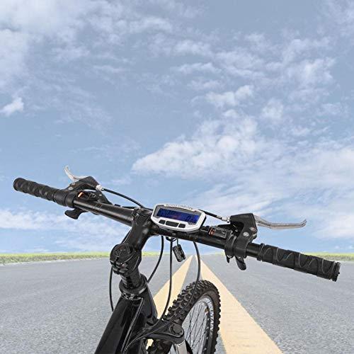 FOLOSAFENAR Cuentakilómetros para Bicicleta Accesorio para Tabla de códigos de Ciclismo Computadora...
