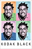 Kodak Black Poster 24in x 36in Hip Hop Trap Rapper