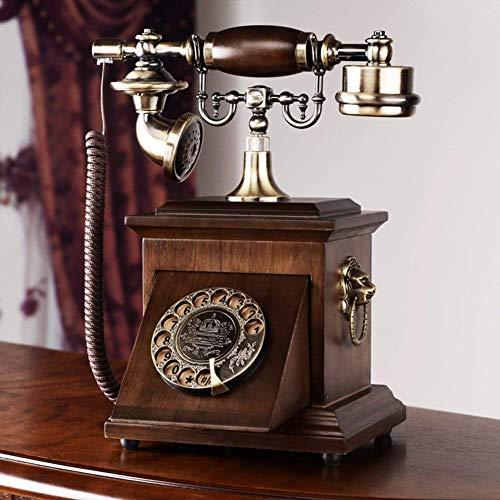 HYY-YY Style européen, l'antiquité, l'utilisation à domicile par téléphone, [rétro], [créatif], tout métal, filaire - A Téléphone rétro