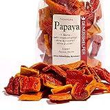 Papayas Trockenfrüchte, Stücke, 175g, ohne Zuckerzusatz & ungeschwefelt, zum Naschen und zum Müsli - Bremer Gewürzhandel
