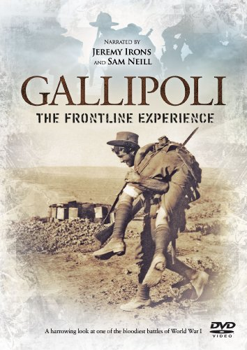 Gallipoli - The Frontline Experience - narrated by Jeremy Irons and Sam Neill [DVD] [Reino Unido]