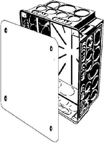 Kaiser–Box Abzweigkasten 240x 142x 87mm
