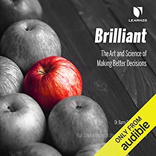 Brilliant audiobook cover art