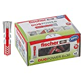 Fischer - Cheville bi-matière DUOPOWER 6x30 sans vis / boîte de 100