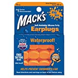 Mack's Pillow Soft Earplugs, Hot Orange, Kid Size (Pack of 3)