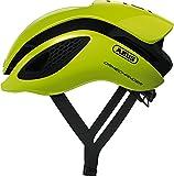 Abus GameChanger Aero- Helm, Casco da ciclismo, Unisex, giallo fluo, M...