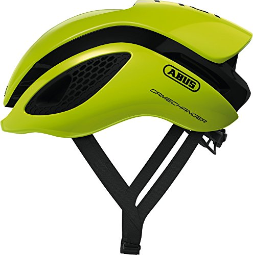 Abus Gamechanger Fahrradhelm, Unisex, Neon Yellow, M