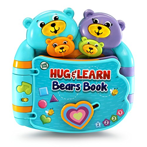 LeapFrog Hug and Learn Bears Book (Frustration Free Packaging), Blue