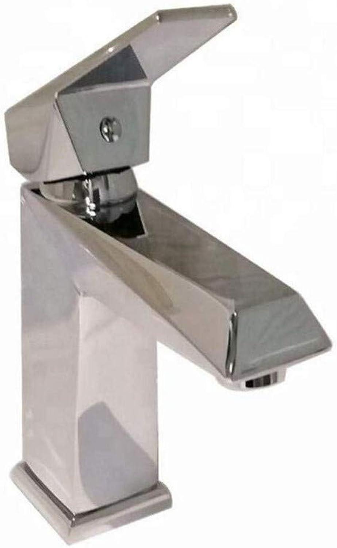 Taps. Kitchen Sinksanitary Wares Square Single Handle Wash Basin Faucet
