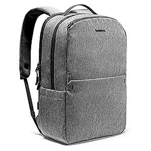51yGXpe1CML. SS300  - tomtoc Mochila Escolar de Ordenador Libros, Bolso Impermeable con Puerto de Carga USB, Backpack de Viaje para…