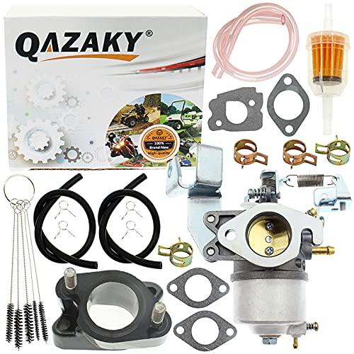 QAZAKY Carburetor Kit Compatible with Yamaha Golf Cart Gas Club Car G2 - G5 G8 G9 G11 G14 4-Cycle Engine 1985-1996 Carb J38-14101-00 J38-14101-01 J38-14101-02 J38-13556 J38-13557 JN3-14101-00