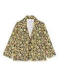 Dress Up America Giacca Emoji assortita Costumi, Multi Colore, Taglia 4-6 Anni (Vita: 71-76, Altezza: 99-114 cm) Unisex-Bambini