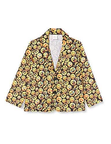 Dress Up America Chaqueta de Emoji variada Disfraces, Multicolor (Multi Color), talla 4-6 años (cintura: 71-76, altura: 99-114 cm) Unisex niños