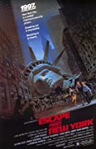 Escape From New York 11 x 17 Movie Poster - Style A