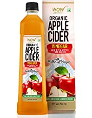 WOW Raw Apple Cider Vinegar - with strand of mother - Not from concentrate - 750ml