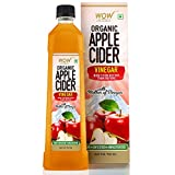WOW Life Science Organic Apple Cider Vinegar - with strand of mother - not from concentrate – 750...