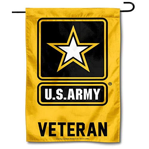WinCraft US Army Veteran Garden Flag