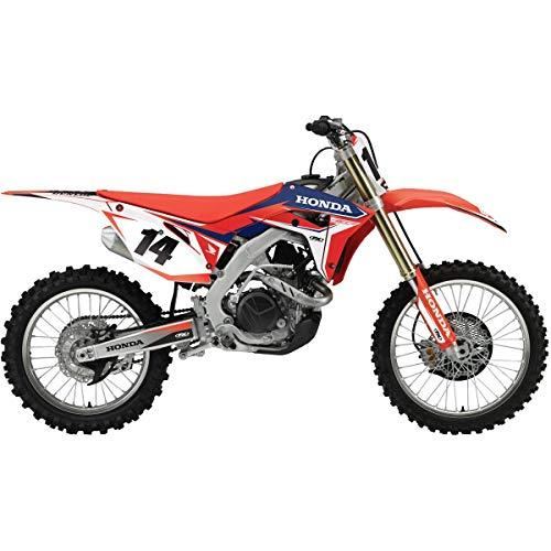 Factory Effex EVO 16 Shroud Graphic Kit - Honda for 07-21 Honda CRF150R