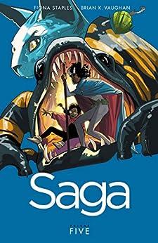 Saga Vol. 5 by [Brian K. Vaughan, Fiona Staples]