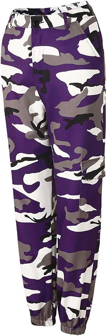 Fulision Women's Camouflage Pants Fashion Casual Pants Harem Pants