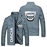Addora Giacca da Uomo Giacche Leggeri - Dacia Cappotto Casual Cappotto per Il Tempo Libero Stand Collare Zip Giacche Antivento All'aperto Giacche Antivento - Adolescenti Regali C-5X-Large