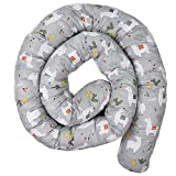 MAMANDU Cama con diseño de serpiente para bebé, 300 x 10 cm