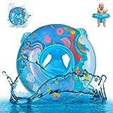 Yisscen Anillo de Natación para Bebé, Flotadores Bebe Unicornio de Dibujos Animados...