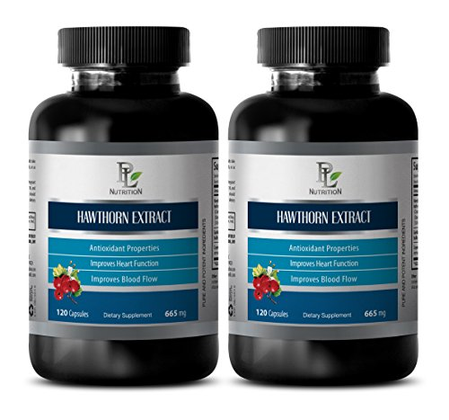Reduce Cholesterol - Hawthorn Extract - Probiotic Supplement for Men - 2 Bottles 240 Capsules