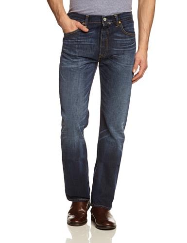 Levi's Herren 501 Original Fit Jeans, Black Jack, 38W / 32L