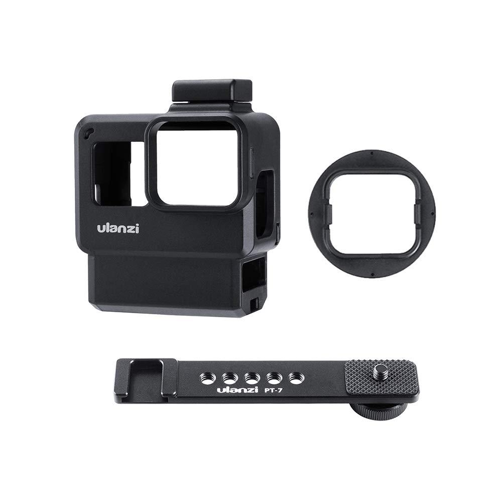 TOPTOO Ulanzi V2 Pro - Estuche para cámara de Deportes con cámara Vlog Estuche Protector Adaptador de