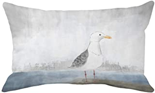 Xihomeli Sea Bird Throw Pillow Covers Coastal Bird Decorative Home Pillow Case Cushion Cover 12x20 Inch Super Soft Waterco...