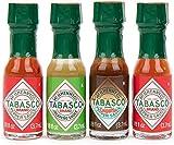 Modern Gourmet Foods, Tabasco Salsa Piccante da Viaggio, Set da 4