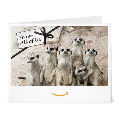 From All of Us - Printable Amazon.co.uk Gift Vouch