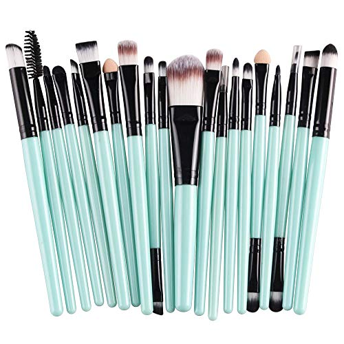 AprFairy Eye Makeup Brushes Set 20 Piece Eyeshadow Brushes Set Professional Makeup Brushes Eye Shadow Concealer Eyebrow Eyelash Eye Liners Blending Make Up Brushes with Soft Synthetic Wool