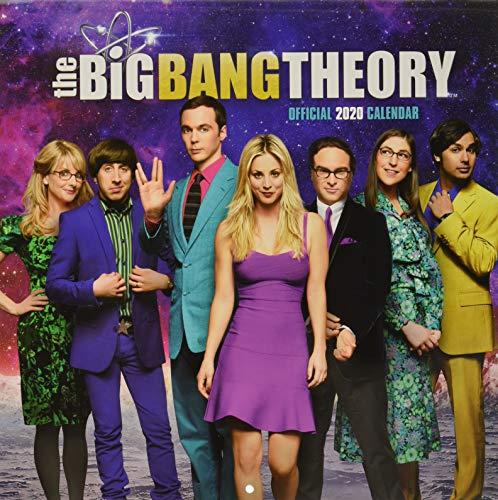 Big Bang Theory 2020 Calendar - Official Square Wall Format