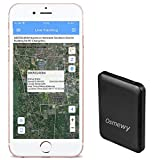 Osmewy Mini Kid GPS Tracker Ultra Thin Personal GPS Locator Tracking Device for Kids Elder Student Backpack Pocket Suitcase Luggage Real Time Anti-Loss Online APP Remote Control GT053