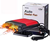 car plug in fan cheap winter car kits portable car heater Car Heater Portable Car Heater 12V 150w Winter Auto Windshield Fast Defroster Defogger with Heating Cooling-Black red