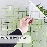 YGGCM Pellicola per vetri per la Privacy, Pellicola per vetri Senza Colla per bagni, Pellicola per vetri per schermi solari
