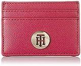Tommy Hilfiger - Classic Saffiano Cc Holder, Carteras Mujer, Multicolor (Bright Jewel), 0.5x7x10 cm (W x H L)