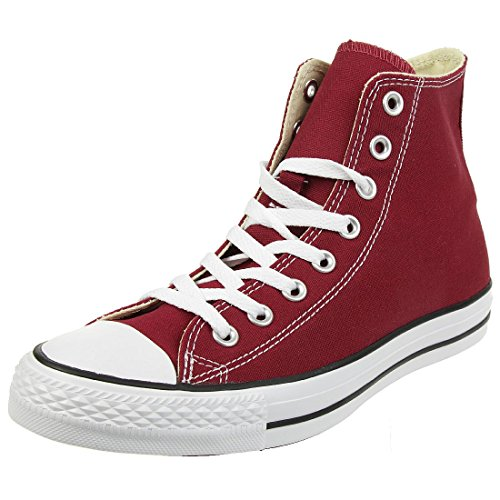 Converse AS HI CAN MAROON M9613 - Zapatillas de deporte de lona unisex, color marron, talla 38