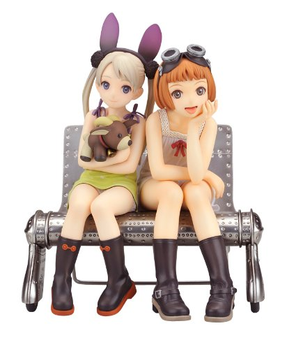 Last Exile: Alvis & Lavie by Last Exile 1/8 PVC figurine Set (Set of 2)