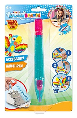 Craze 11188 Greifstift Greifzange für Bügelperlen Steckperlen Splash Beadys Multi Pen, sortiert, bunt