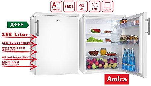 Amica VKS 15917 W koelkast vrijstaand wit 155 l A+++ - koelkast (155 l, SN-T, 41 dB, A+++, wit)