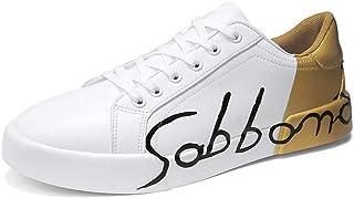 Scarpe Casual da Uomo alla Moda Confortevoli Scarpe da Ginnastica Piatte da Passeggio Unisex all'aperto Sneakers Stringate...