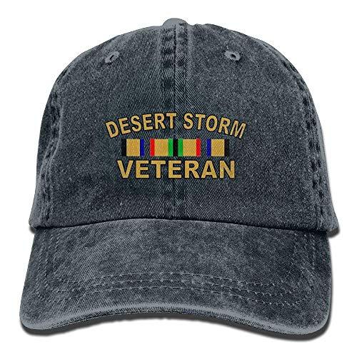 Ynjgqeo Desert Storm Veteran Unisex Baseball Cap Cowboy Hat Dad Hats Trucker Hat