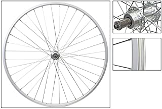 Wheel Rear 27 x 1-1/4 Silver, 36H 126mm QR
